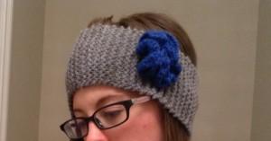 Knit Flower Headband | leave it to Joy